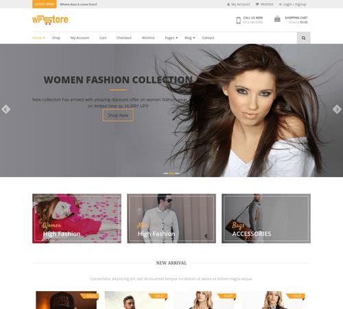 WooCommerce Demo-Webshop #2